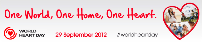 Svetski dan srca 2012 - baner