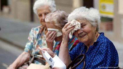 Starije osobe i leto