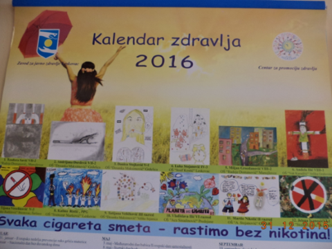 Kalendar zdravlja 2016